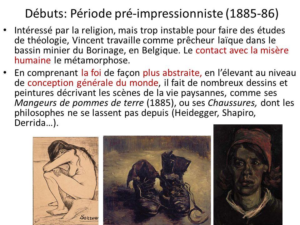 Débuts: Période pré-impressionniste (1885-86)