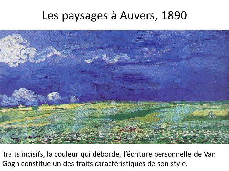 Les paysages à Auvers, 1890
