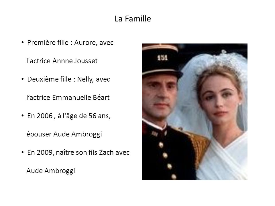 La Famille Première fille : Aurore, avec l actrice Annne Jousset