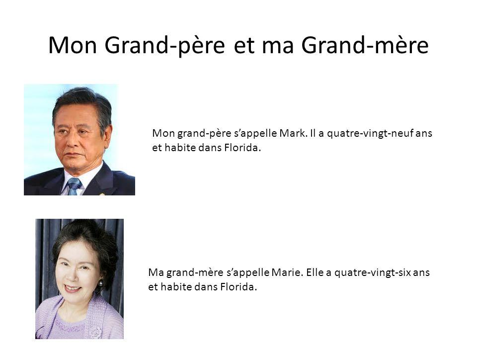 Mon Grand-père et ma Grand-mère