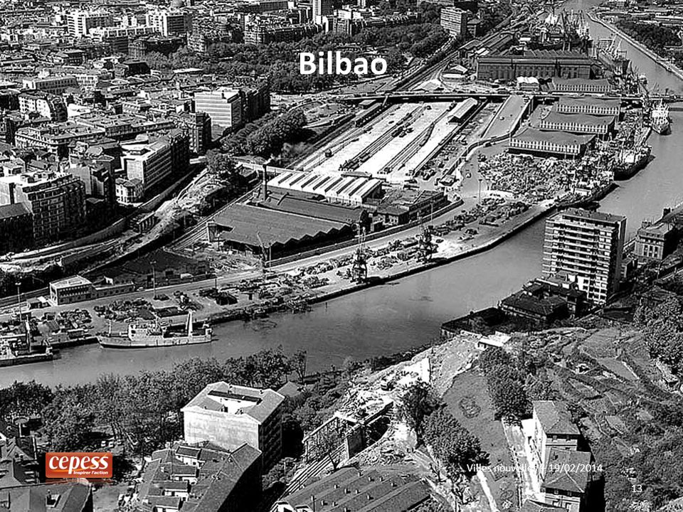 Bilbao Villes nouvelles – 19/02/2014