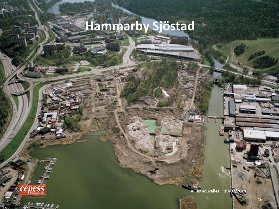 Hammarby Sjöstad Villes nouvelles – 19/02/2014