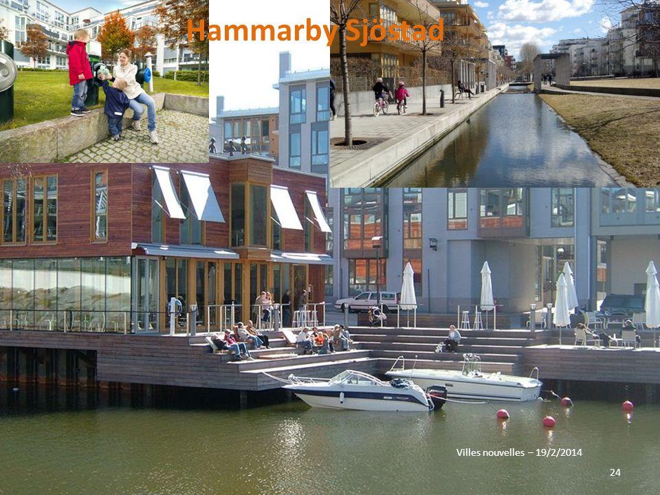 Hammarby Sjöstad Villes nouvelles – 19/2/2014
