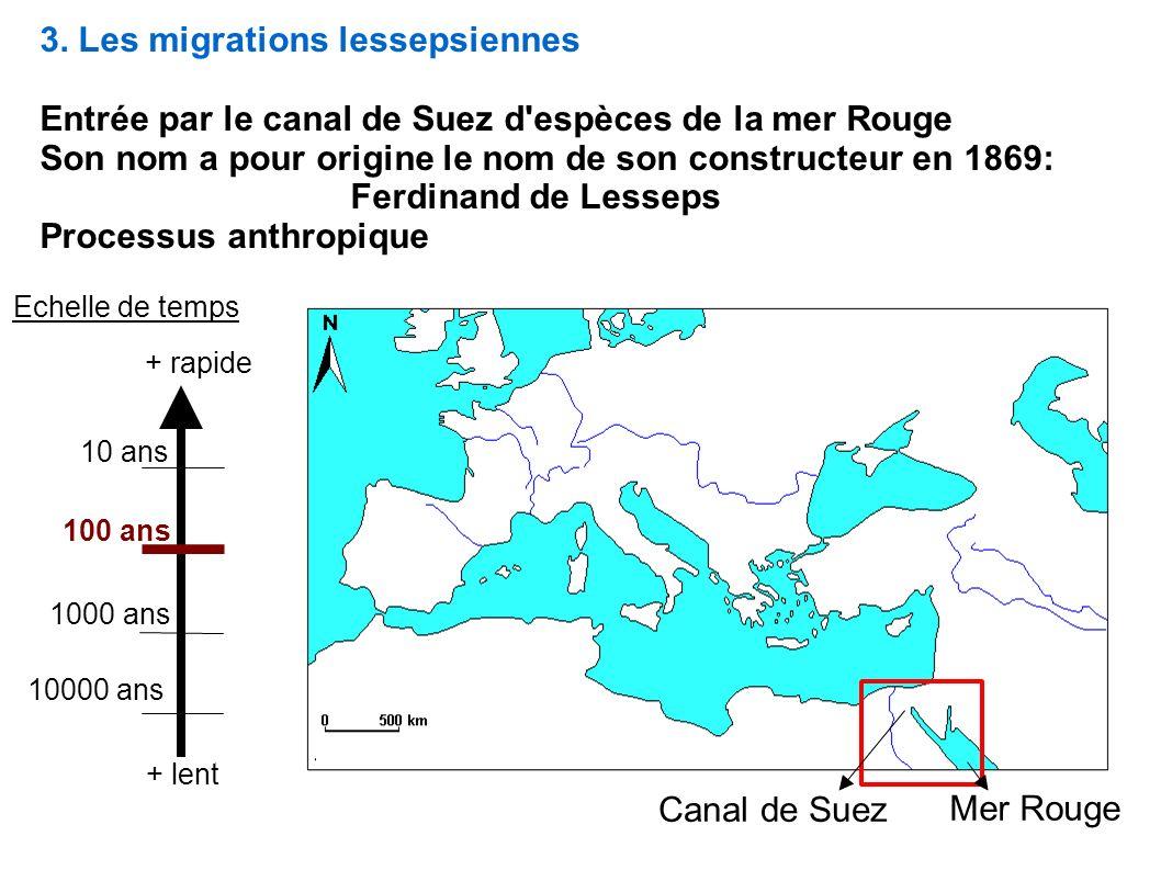 3. Les migrations lessepsiennes