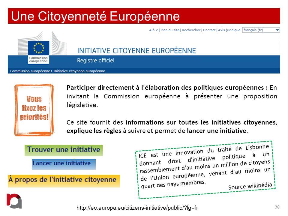 Une Citoyenneté Européenne
