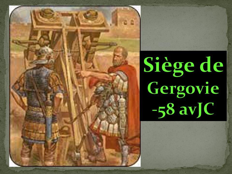 Siège de Gergovie -58 avJC