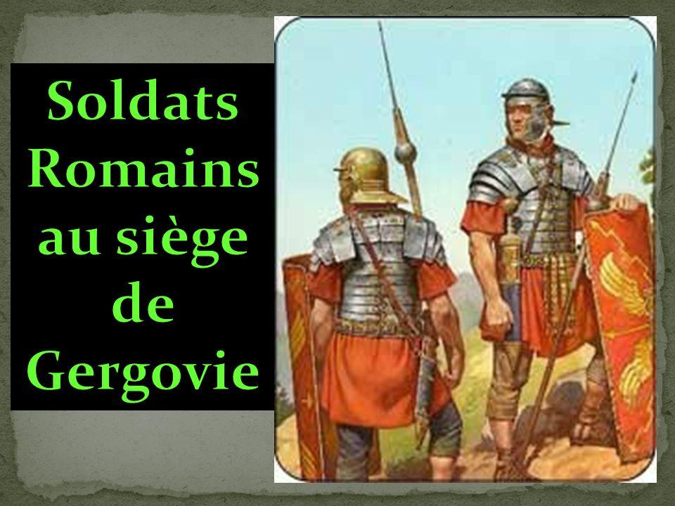 Soldats Romains au siège de Gergovie