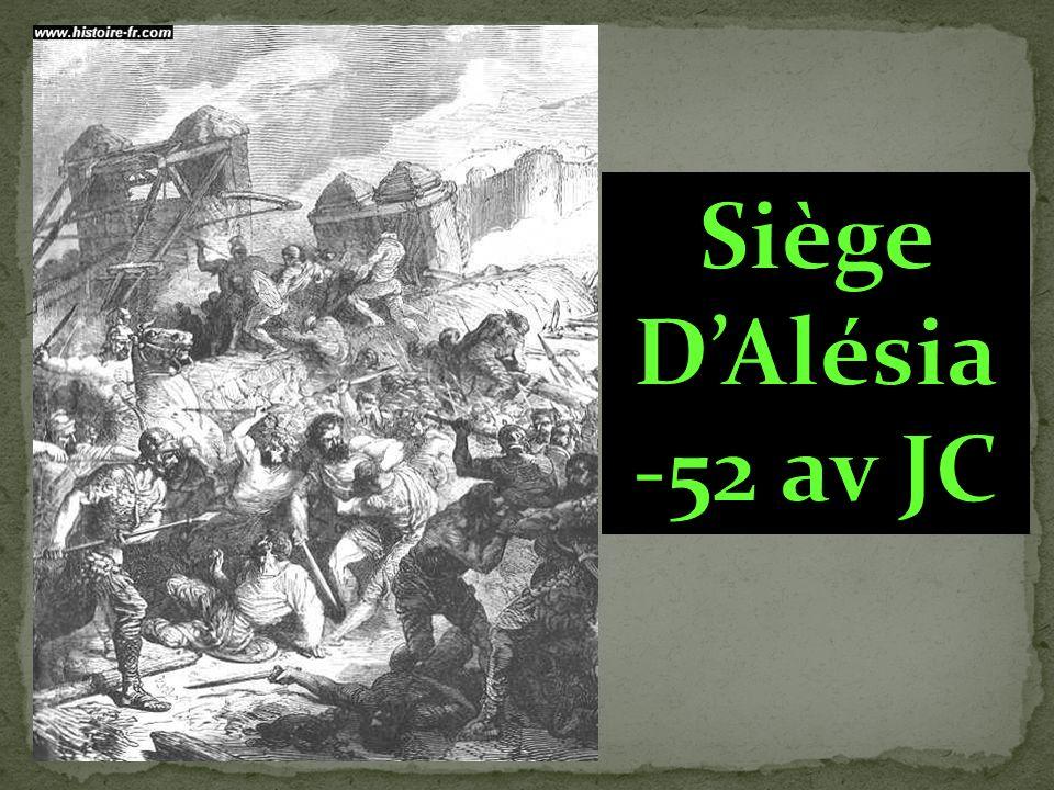 Siège D'Alésia -52 av JC