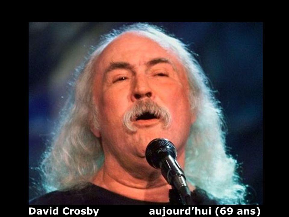 David Crosby aujourd'hui (69 ans)