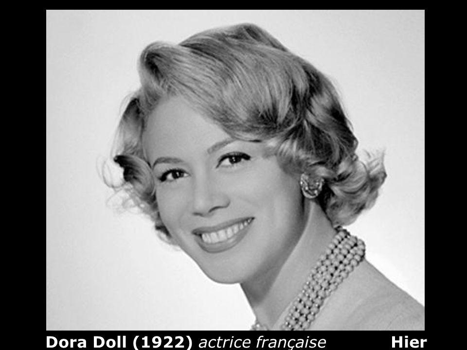 Dora Doll (1922) actrice française Hier