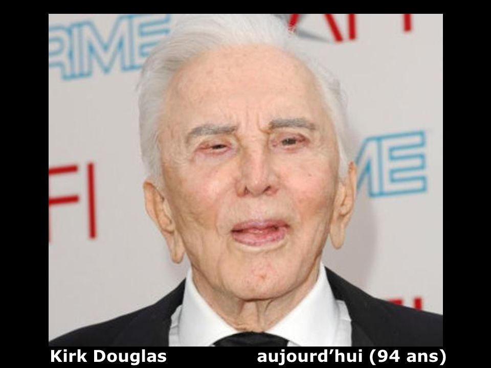 Kirk Douglas aujourd'hui (94 ans)
