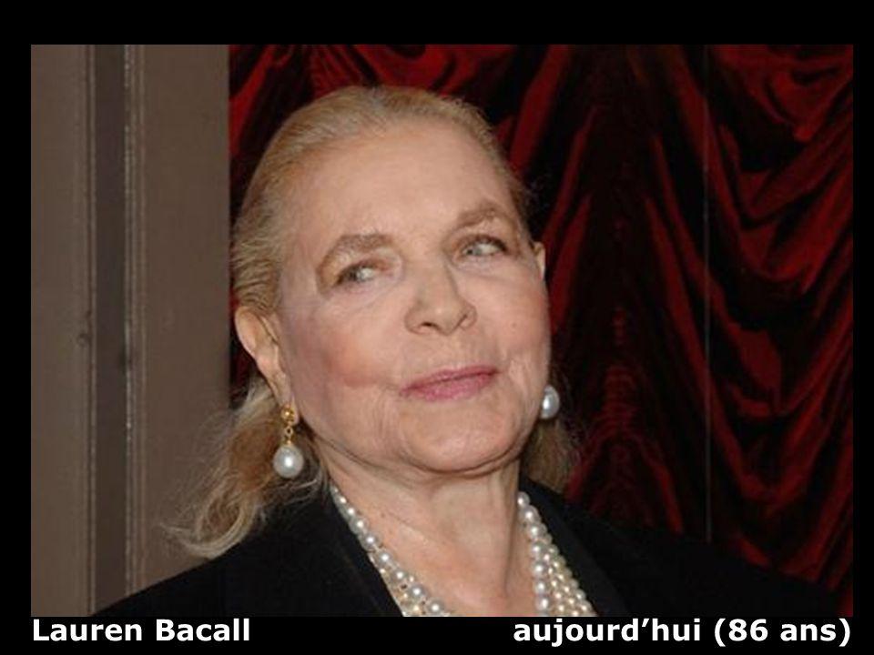 Lauren Bacall aujourd'hui (86 ans)