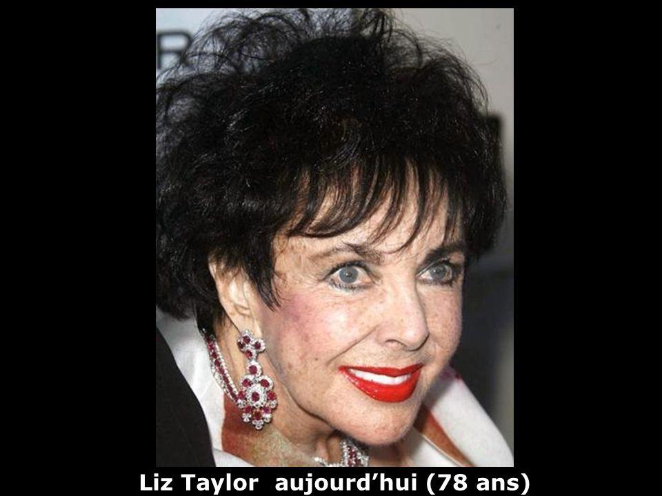 Liz Taylor aujourd'hui (78 ans)
