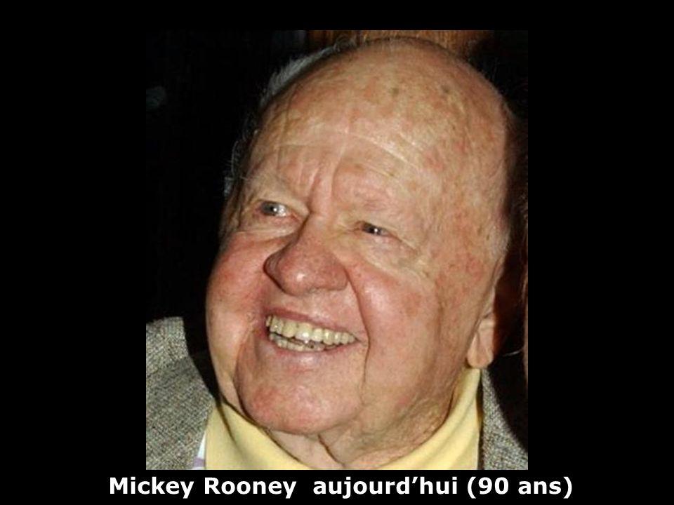 Mickey Rooney aujourd'hui (90 ans)