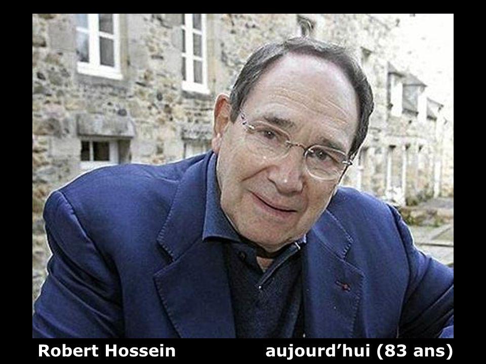 Robert Hossein aujourd'hui (83 ans)