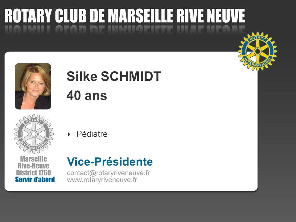 Silke SCHMIDT 40 ans Pédiatre 4 Vice-Présidente