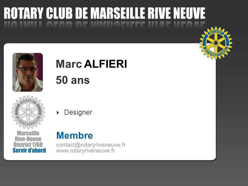 Marc ALFIERI 50 ans Designer 4 Membre