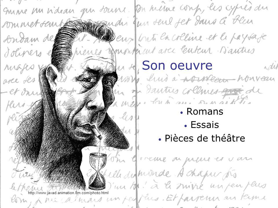 Romans Essais Pièces de théâtre