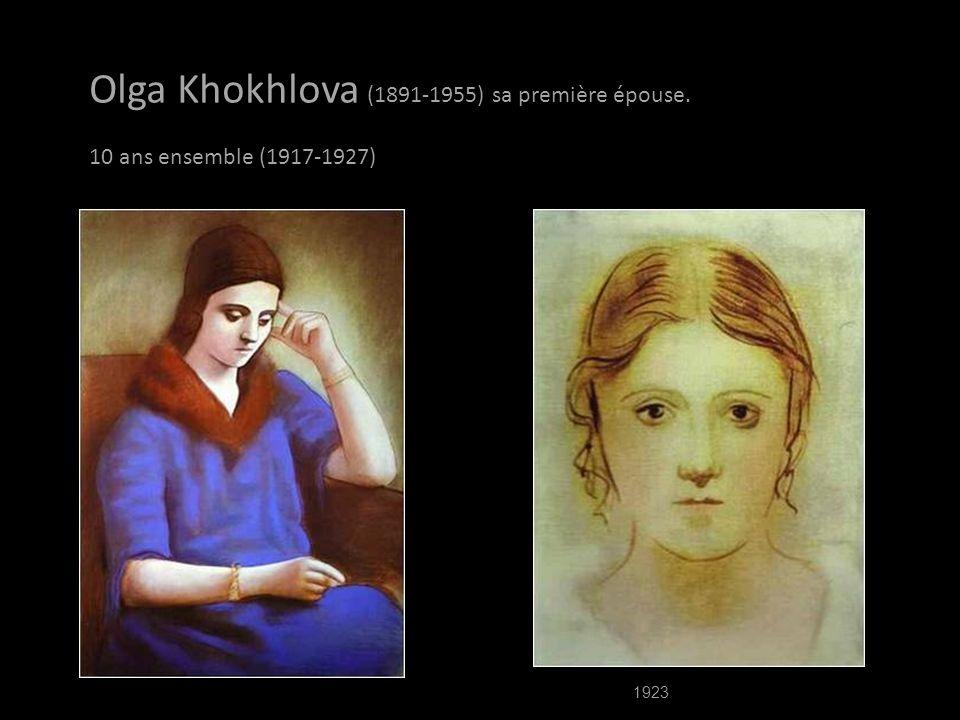 Olga Khokhlova (1891-1955) sa première épouse.
