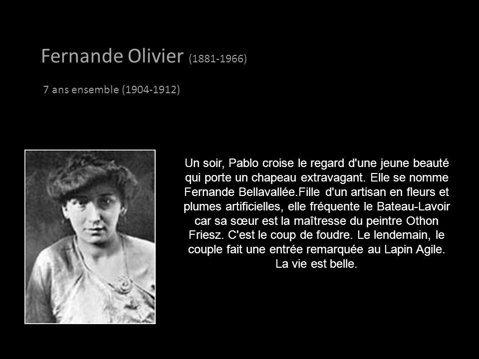 Fernande Olivier (1881-1966) 7 ans ensemble (1904-1912)