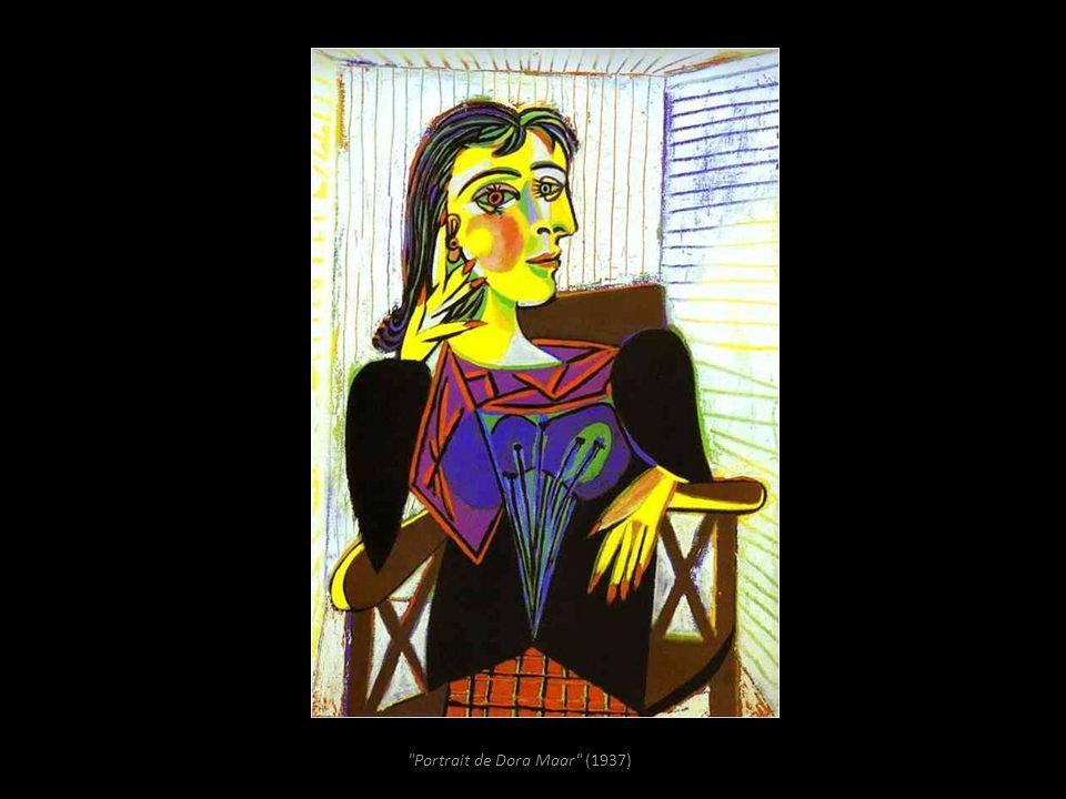 Portrait de Dora Maar (1937)