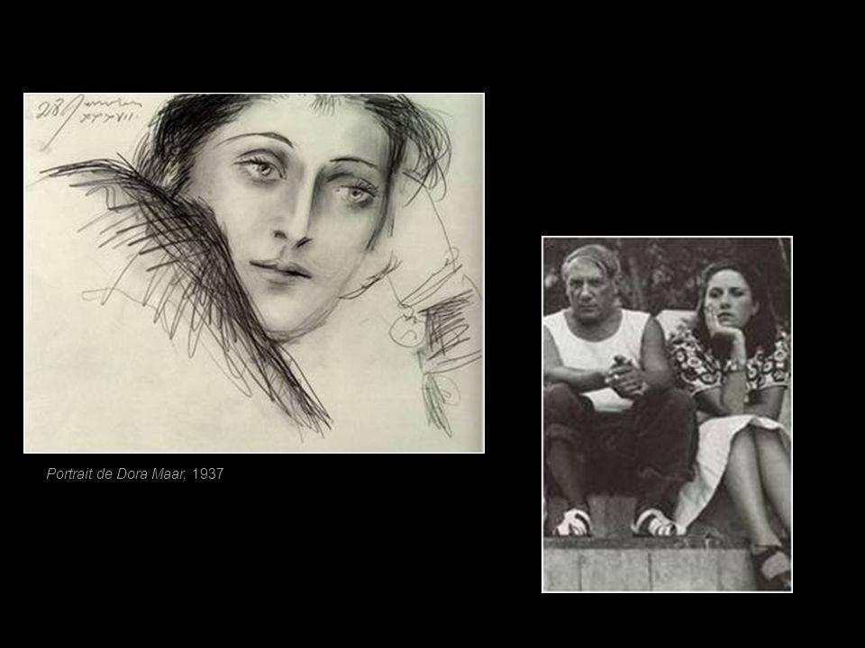 Portrait de Dora Maar, 1937