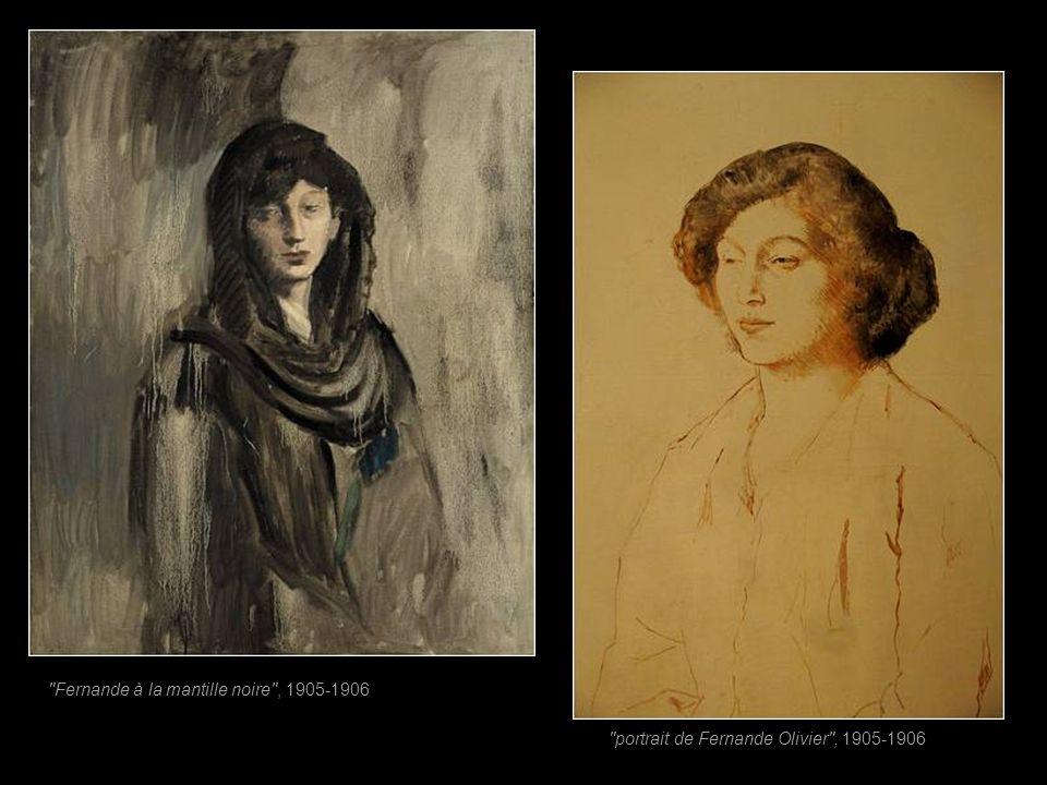 Fernande à la mantille noire , 1905-1906