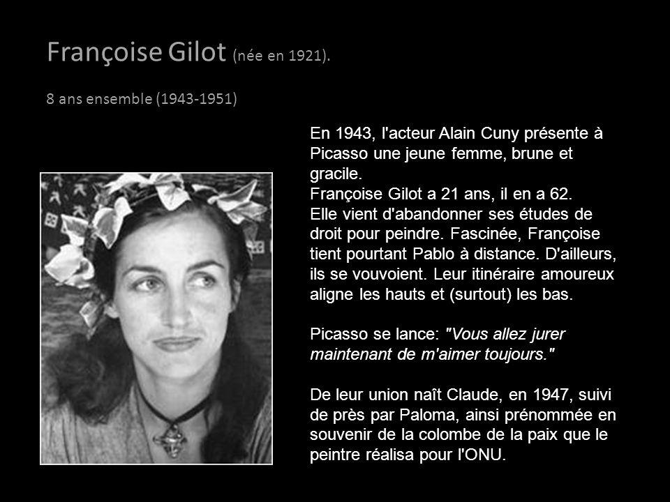 Françoise Gilot (née en 1921).
