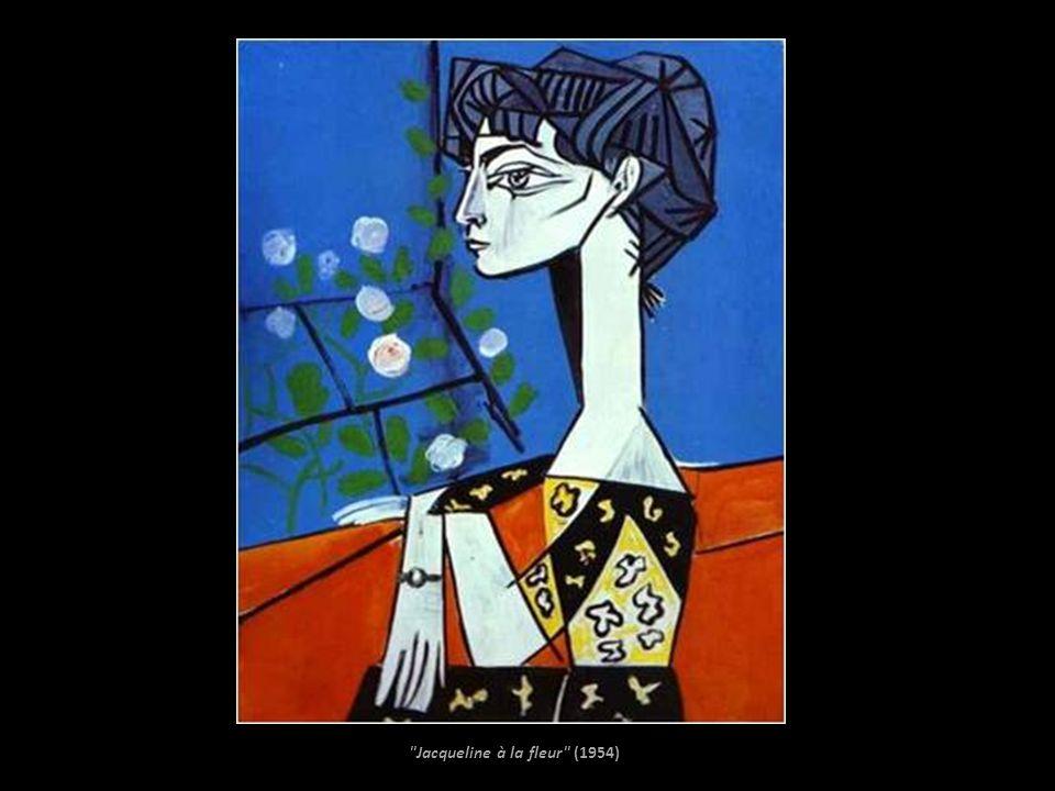 Jacqueline à la fleur (1954)