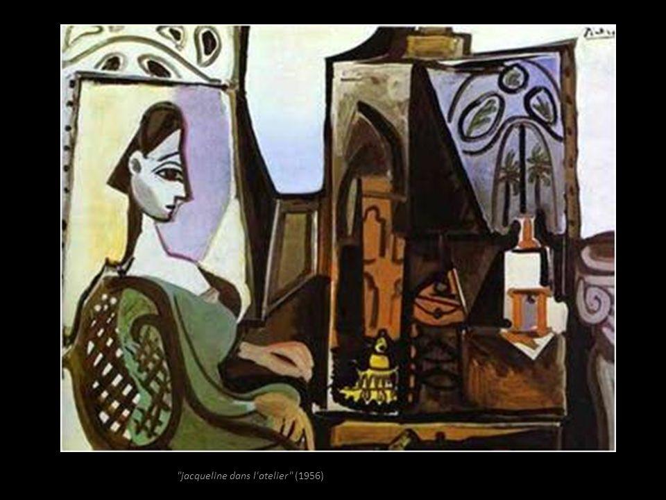 jacqueline dans l atelier (1956)