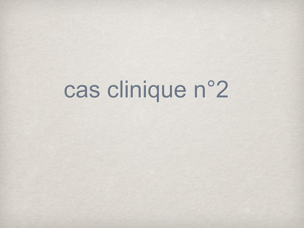 cas clinique n°2