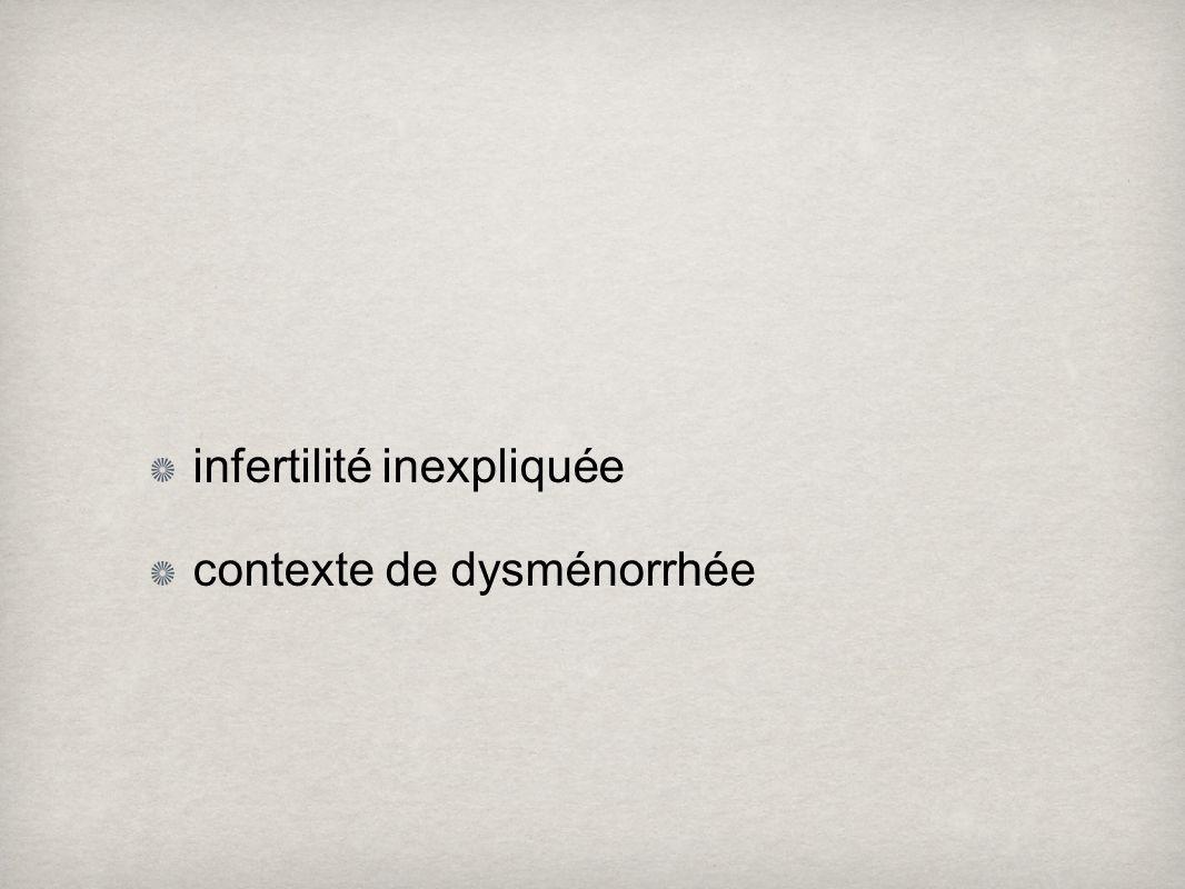 infertilité inexpliquée