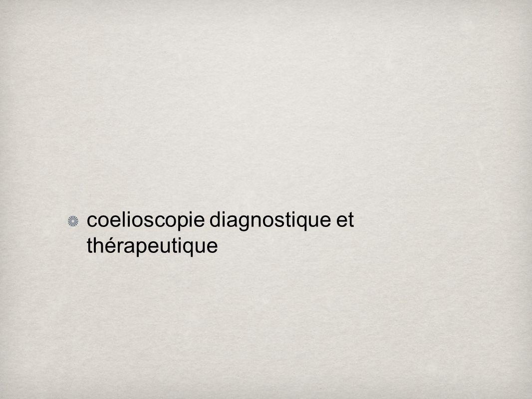 coelioscopie diagnostique et thérapeutique