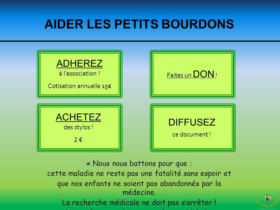 AIDER LES PETITS BOURDONS