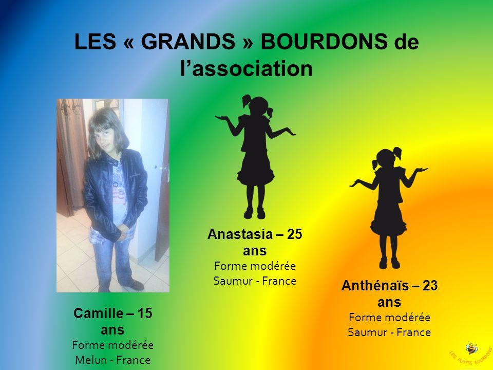 LES « GRANDS » BOURDONS de l'association