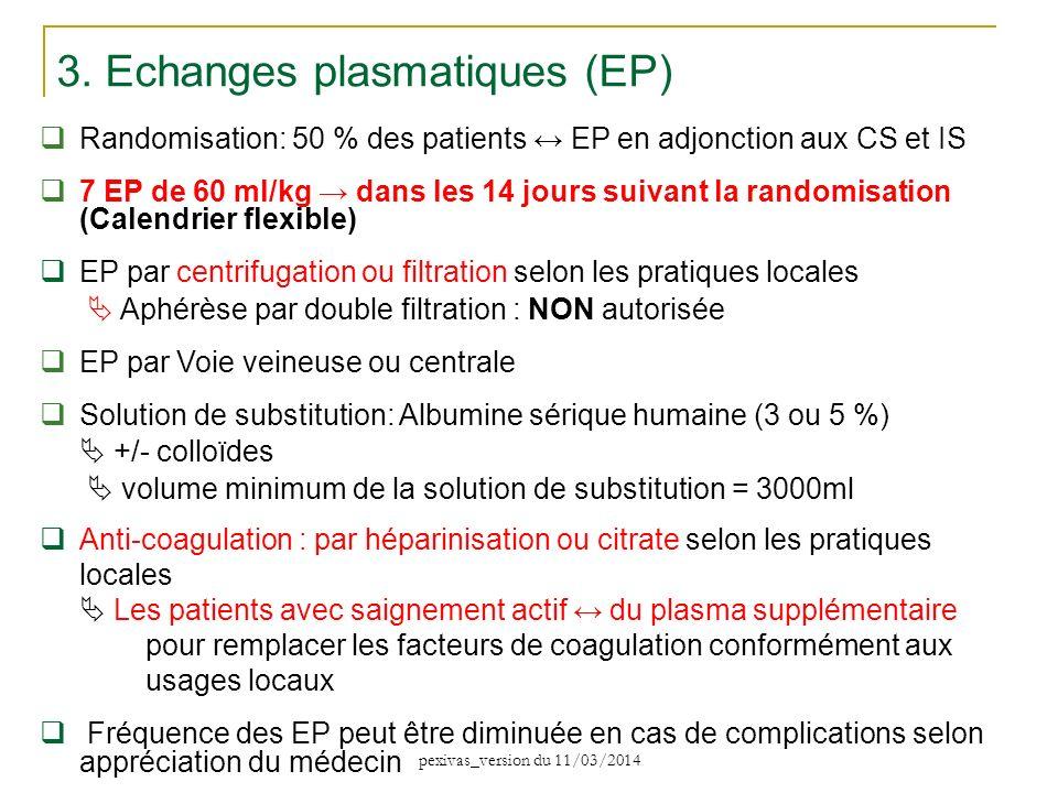 3. Echanges plasmatiques (EP)