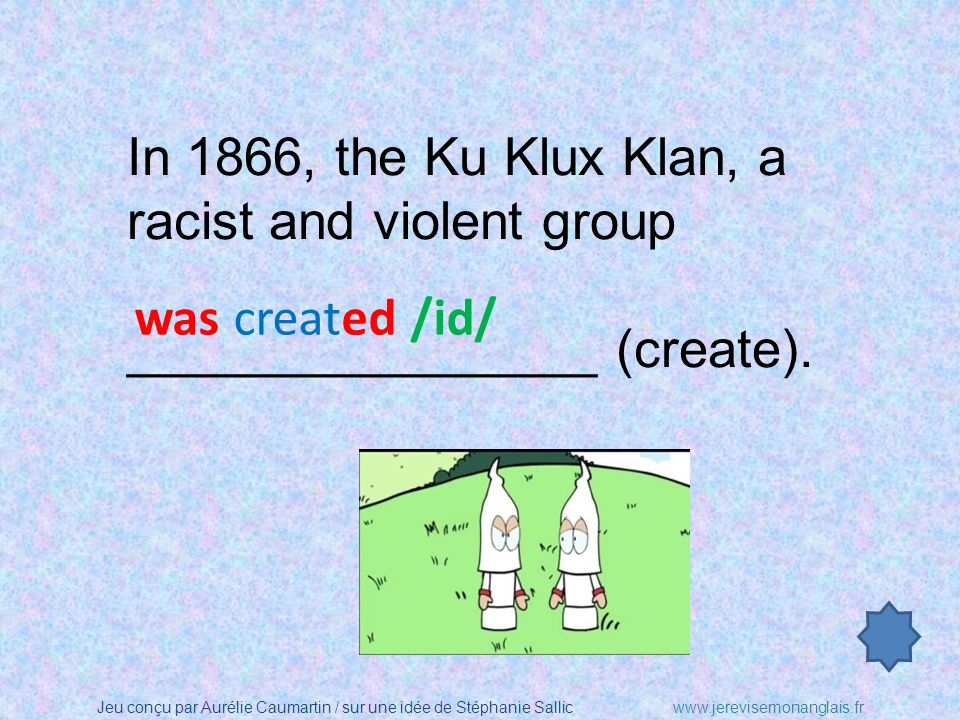 In 1866, the Ku Klux Klan, a racist and violent group