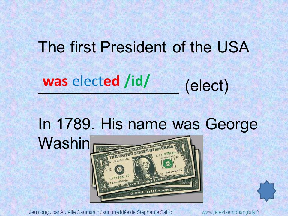 The first President of the USA