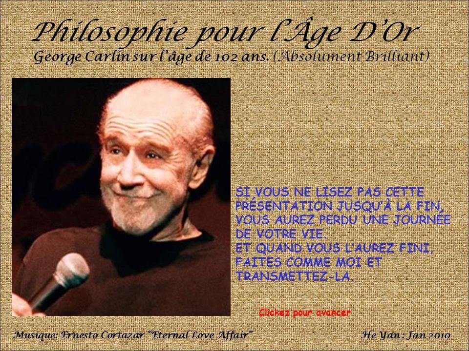 Philosophie pour l'Âge D'Or