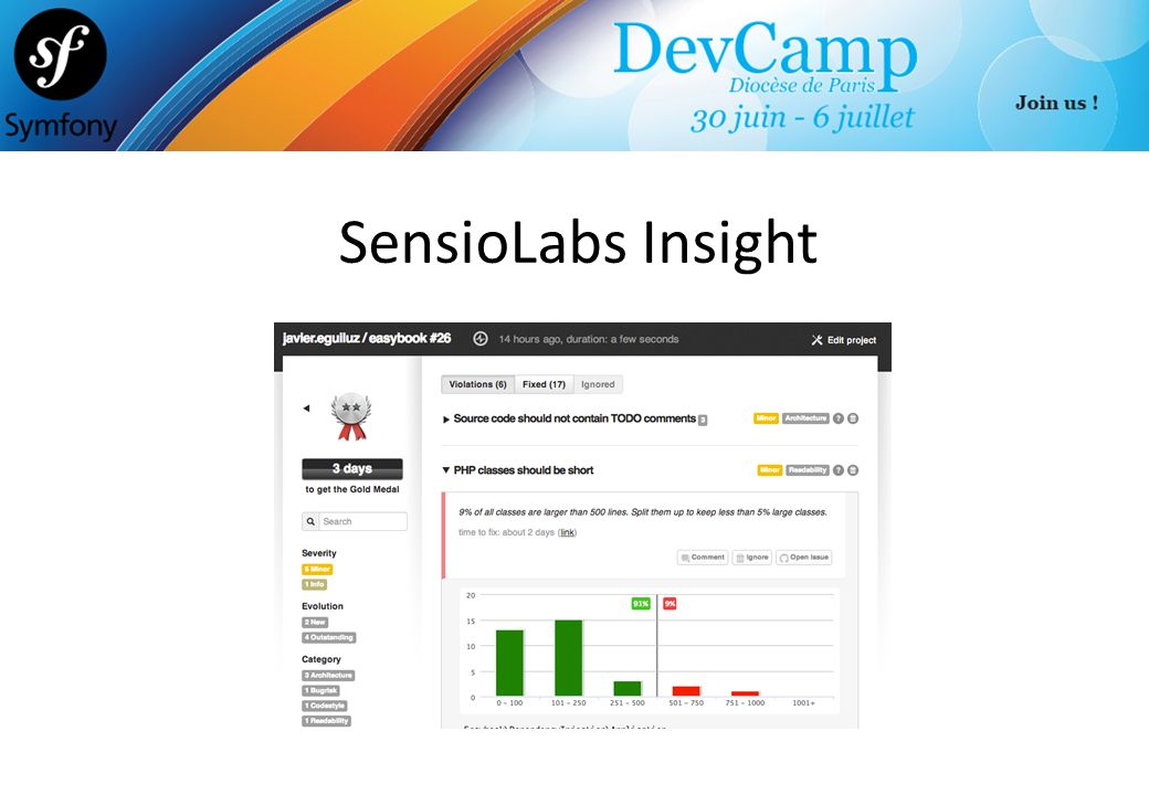 SensioLabs Insight