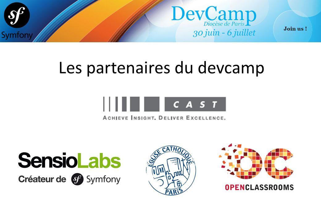 Les partenaires du devcamp