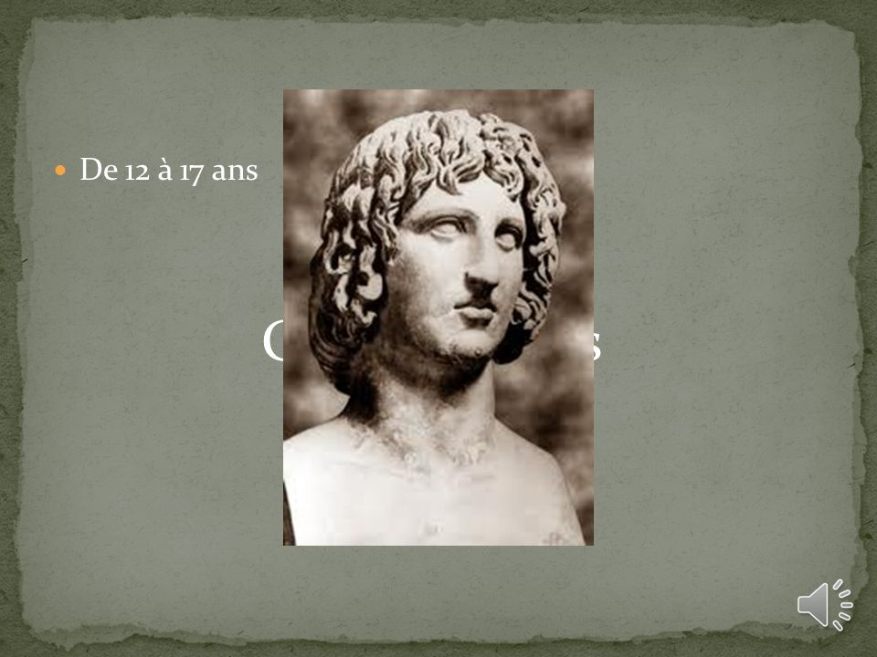 De 12 à 17 ans Grammaticus