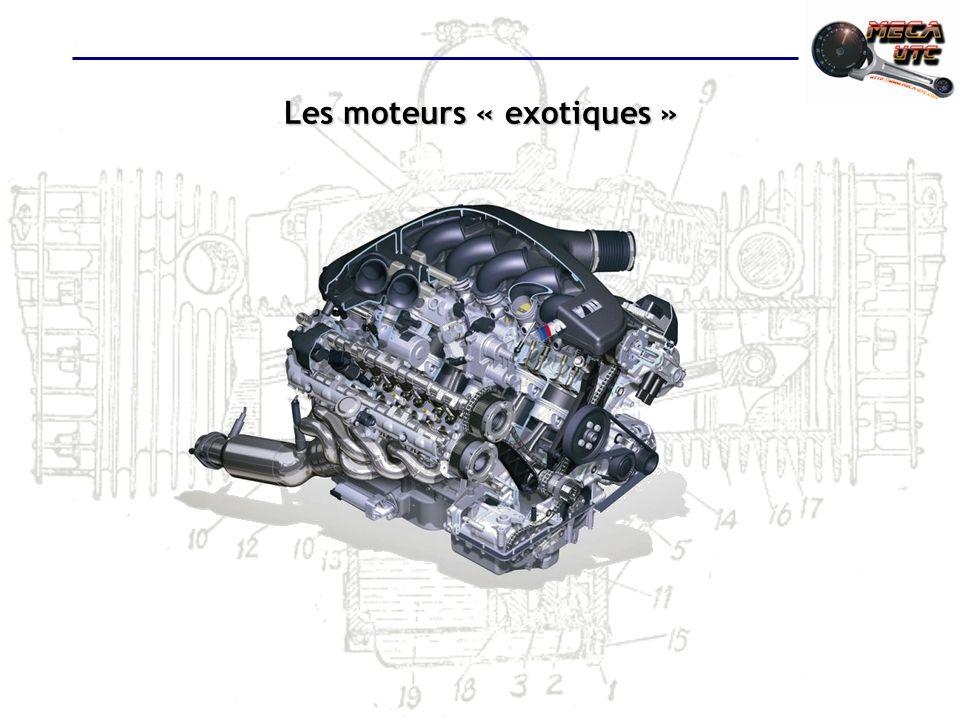 Les moteurs « exotiques »