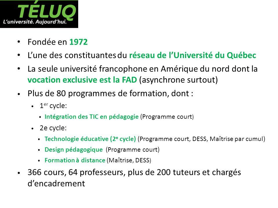 L'une des constituantes du réseau de l'Université du Québec