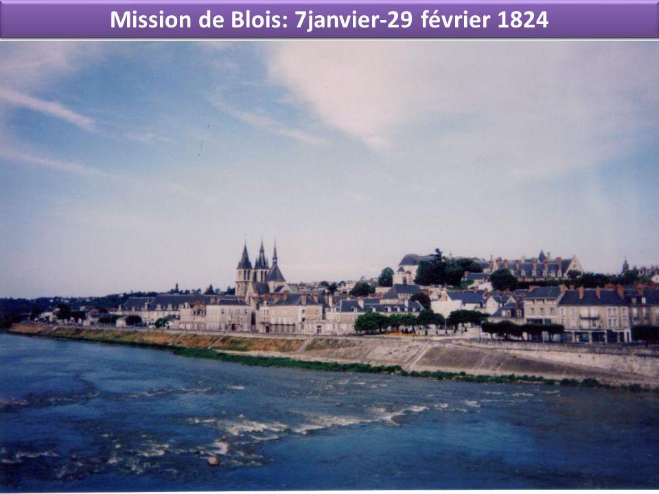 Mission de Blois: 7janvier-29 février 1824