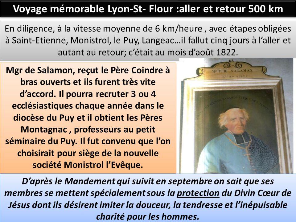Voyage mémorable Lyon-St- Flour :aller et retour 500 km