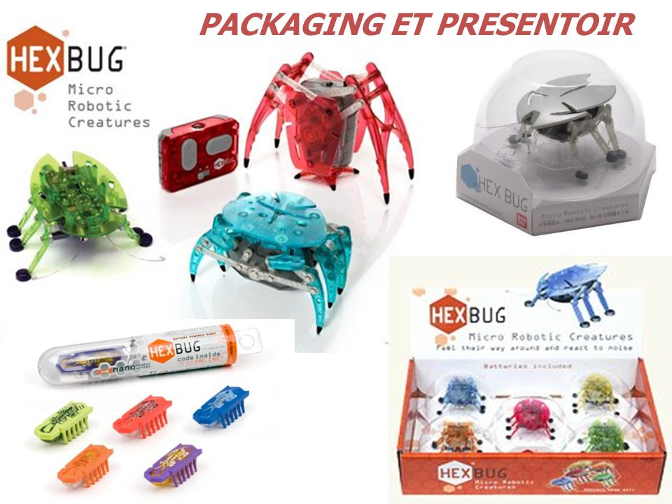 PACKAGING ET PRESENTOIR