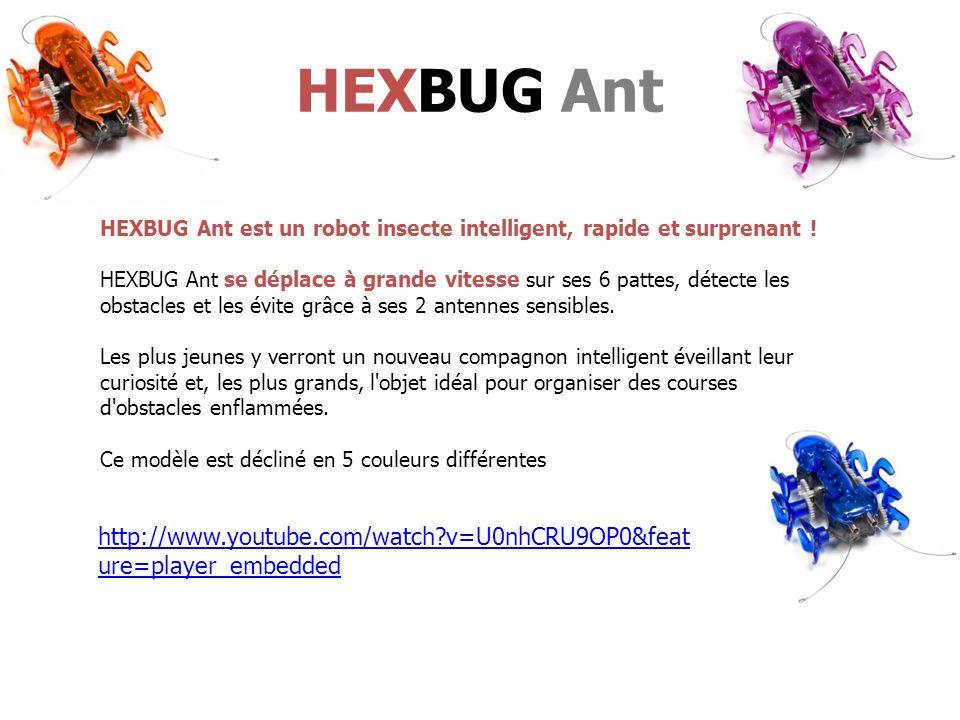 HEXBUG Ant HEXBUG Ant est un robot insecte intelligent, rapide et surprenant !
