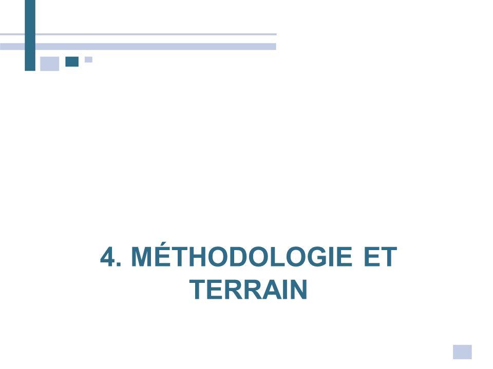 4. Méthodologie et terrain
