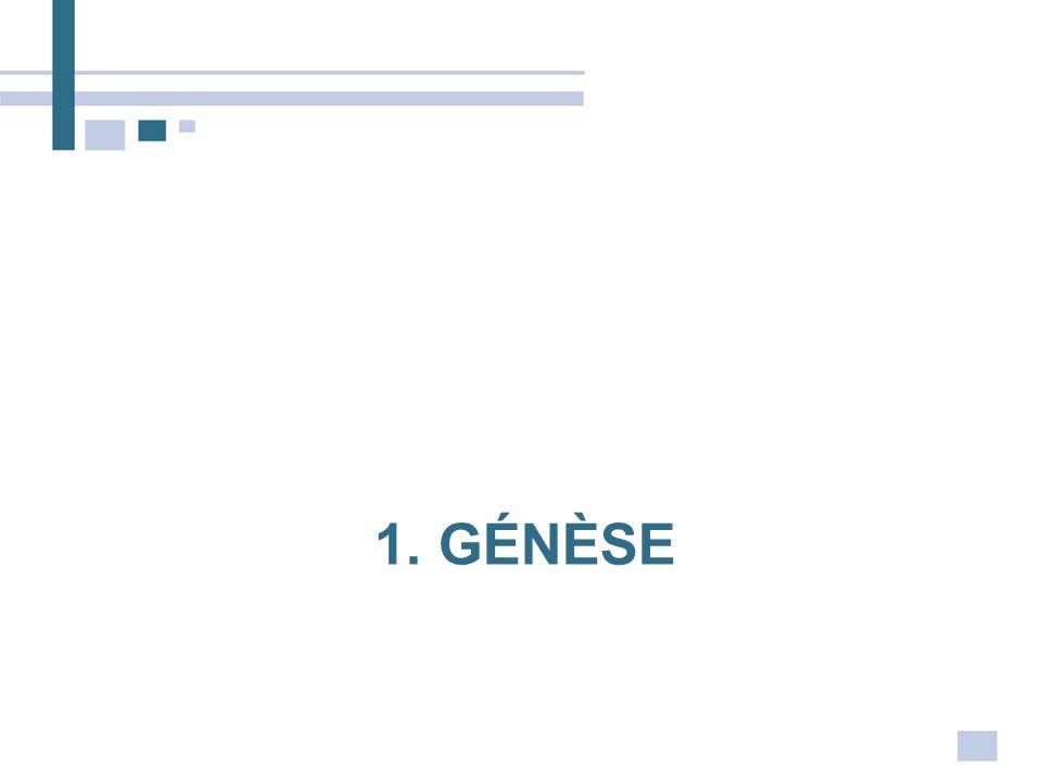 1. génèse